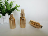 Frasco de alumínio Electroplated do conta-gotas do ouro para o empacotamento do petróleo essencial (PPC-AB-0115)