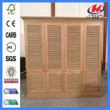 Porte Bi-Se pliante de cabinet en bois extérieur d'auvent (JHK-ZD1)