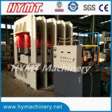 Porta de aço hidráulico pele gofragem pressionando a máquina