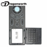 Mini branco Backlit T6 do rato do teclado de Bluetooth para a caixa Android Remotewith 2.4GHz RF da tevê