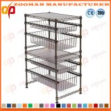 Stand à la maison d'aménagement de fil de cuisine de chrome (Zhw23)
