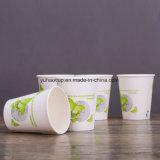 Qualitäts-heißes einzelnes Wand-Wegwerfwasser-Papiercup