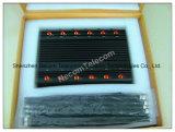 Fabricante China de aisladores de batería múltiple, Bluetooth, WiFi 3G 4G celular Jammer portátil, teléfono móvil Jammer señal Jammer/RF/Bomb Jammer