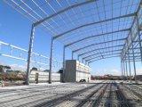 Het geprefabriceerde Ontwerp Godown van de Structuur van het Staal van de Bouw van de Workshop voor Afrika