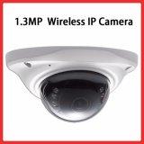 carte SD sans fil 150&deg de l'enregistrement audio Built-In16g de caméra de sécurité d'IP de WiFi de 1.3megapixel 960p ; Appareils-photo d'intérieur à l'épreuve du vandalisme grands-angulaires de dôme de vision nocturne de jour
