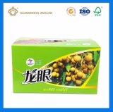 Подгонянная плодоовощ Litchi печатание полного цвета коробка коробки твердого упаковывая Corrugated