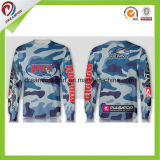 Hersteller-kundenspezifische schnelle trockene Fischen-Hemden