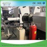 Déchets de plastique de haute capacité PE/PP/Film PVC/granulateur de recyclage de flocon & machine de compoundage bouletage