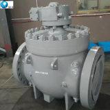 API 6D carboneto de tungsténio metal assentado o munhão montada com a esfera da válvula de esfera de Entrada Superior da Válvula