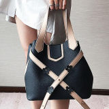 2017 de nieuwe Handtas Van uitstekende kwaliteit van het Meisje van de Zakken Pu van de Vrouw van het Ontwerp Dame Shopping Bag From China Leverancier Sy8629