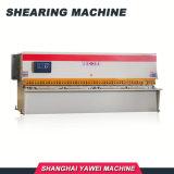 E21 CNC de Hydraulische Werktuigmachine van de Scharen van de Plaat van de Schommeling Aan het Snijden van Staal