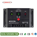 Controlador solar PWM 15AMP da carga do Scg 1515 de Paco