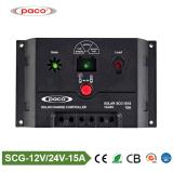 Solarladung-Controller PWM 15AMP Paco Scg-1515