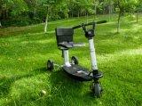 Scooter eléctrico plegable de 3 ruedas moto de equilibrio de la propia