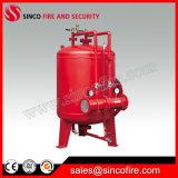 消火活動のための泡の貯蔵タンクか泡のぼうこうタンク