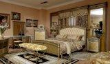 0016本のConicalnessの足古典的な高貴な金カラーベッド部屋のコレクション