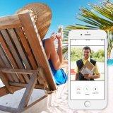 Sonnette visuelle d'intercom de téléphone de porte de WiFi sans fil imperméable à l'eau pour la garantie de Chambre