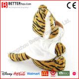 아기 아이 아이들을%s t-셔츠에 있는 En71 견면 벨벳 장난감 박제 동물 연약한 호랑이