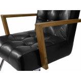 Labrar la silla con el peluquero de costura del diamante de madera de los apoyabrazos que labra la silla
