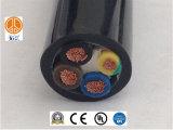 電気内部接続ワイヤーの上のUL3289 XLPE 6AWG 600V CSA FT2のホック
