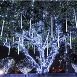 Multi natale del giardino di cerimonia nuziale dell'indicatore luminoso di natale dei tubi LED della meteora di colore