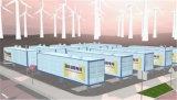 Sistema de alto rendimiento del almacenaje de energía de la batería del Li-ion 4mwh (ESS)