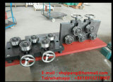 Barra de acero del diámetro grande que endereza la máquina Jzq70/18