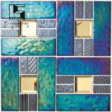 Due mattonelle di mosaico della decorazione di colore a Foshan