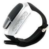 無線電信はハンズフリー小型音楽スマートな腕時計スピーカーによって反失われるアラームLED表示を遊ばす