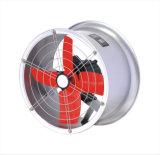 """Ventilador de ventilação industrial do exaustor """" do duto 20 circular fixado na parede"""