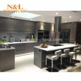 Деревянные кухонные кабинета Anti-Scratch High Gloss Мебель кухонные шкафы