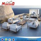 Mobiliário de Design de moda no exterior móveis de luxo Sofá Definir sofá de madeira de Teca Francês