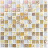 Стеклянной мозаики Crystal стены и комнаты кафелем Китая производство