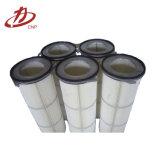 Precio industrial del cartucho de filtro del colector de polvo del arreglo para requisitos particulares de la talla