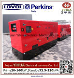 тепловозный молчком генератор 24kw/30kVA с Ce Approval-20170828A двигателя Lovol-Perkins