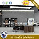 PVC del Formica de la melamina laminado L escritorio de oficina ejecutiva de la dimensión de una variable (HX-8N0807)