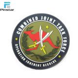 Custom Patch Airborne en PVC souple avec crochet et boucle de retour