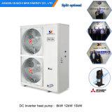 - 25c riscaldamento della Camera del riscaldatore di acqua della pompa termica di inverno 12kw/19kw R407c