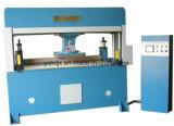 Máquina automática de la prensa del bolso que corta con tintas de goma de cuero principal que viaja