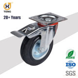 100*32 mm de fixer l'industrie rigide PU Style Euope roues pivotantes