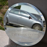 壁ミラーまたは装飾ミラーのための二重上塗を施してある銀製ミラーガラス