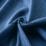 Tissu de toile neuf de 55/56'Uphlstery dans la couleur bleue