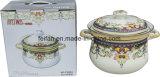 最もよい価格の鋳鉄のエナメルの円形の調理器具かスープ鍋