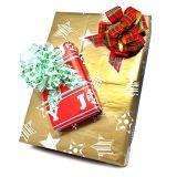 선물 감싸기 크리스마스 선물을%s 부속 풀 활, 활, 바구니, 술병 훈장