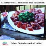 Quadro comandi dell'interno del LED di colore completo P7.62 per fare pubblicità