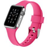 Appleの腕時計のシリコーンバンドリストバンドのシリコーンのリスト・ストラップのため、Appleの腕時計のためのシリコーンバンド