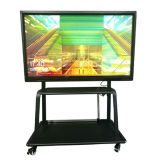 55, 65, 75, 85, 98-pouces écran LCD de tableau blanc interactif avec OPS PC intégré dans le kiosque à écran tactile interactif