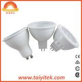 Haute qualité à faible prix de l'ampoule LED GU10 COB Projecteurs à LED