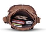 Bloco do trabalho do saco de Messager do saco do Cruz-Corpo da alta qualidade da lona do vintage de homens de saco do ombro da lona único