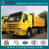 Camion de dumper du camion à benne basculante de Sinotruk HOWO 6X4 10-Wheeler 371HP